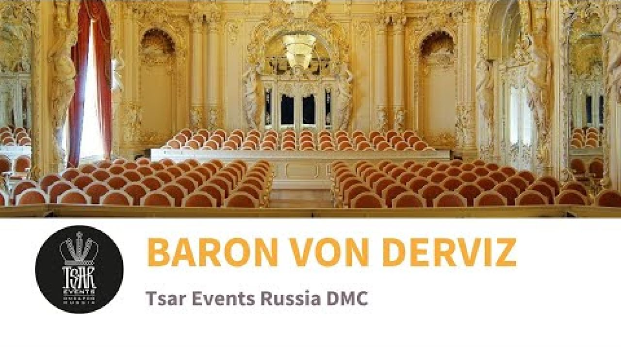 BARON VON DERVIZ MANSION (aka The St. Petersburg Chamber Opera Theater) - Venue from Tsar Events DMC